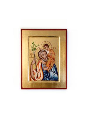 Ikona bizantyjska święty Józef