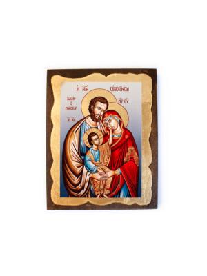 Ikona bizantyjska Święta Rodzina