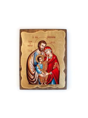 Święta Rodzina grecka ikona