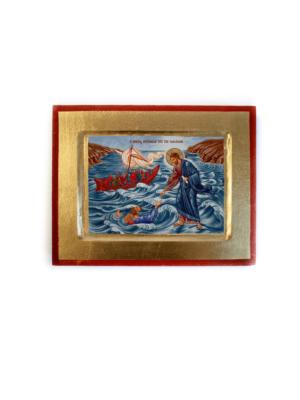 Ikona Jezus chodzący po jeziorze