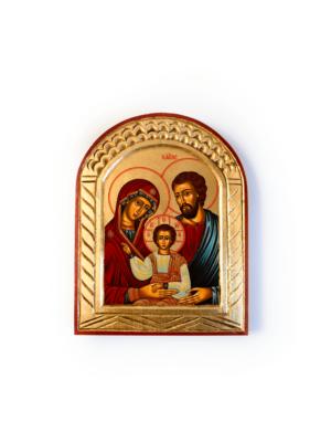 Ikona owalna Święta Rodzina