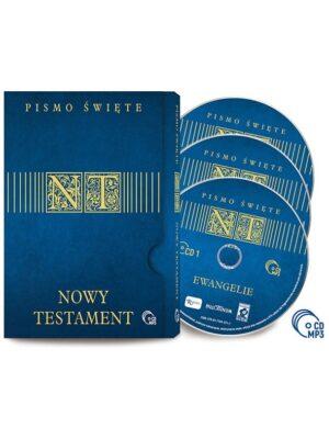 PismNowy Testament Audiobook 3 płyty CDo Święte Nowy Testament Audiobook