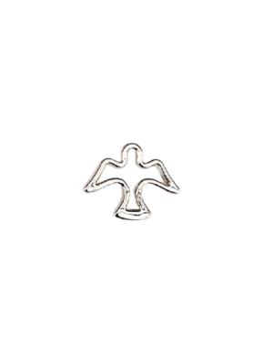Znaczek metalowy - gołębica