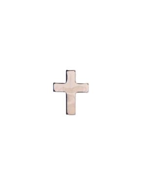 Znaczek metalowy – krzyżyk