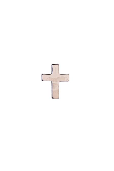 Znaczek metalowy - krzyżyk