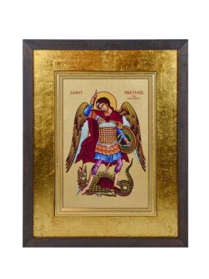 Ikona Archanioła Michała w ramie