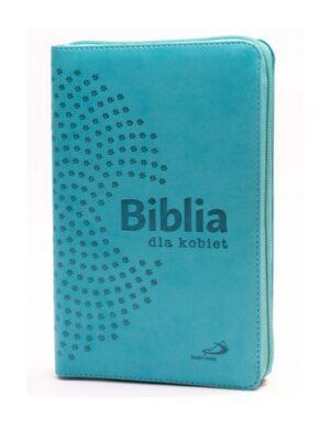 Biblia dla kobiet w turkusowym etui
