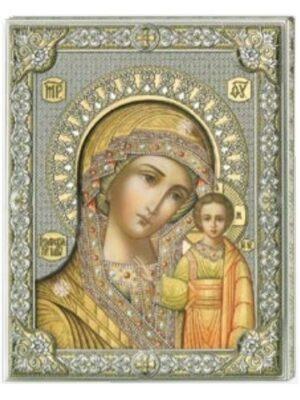 Madonna Kazańska - złota