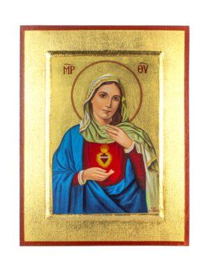 Ikona Najświętsze Serce Maryi