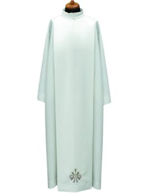 Alba kapłańska z haftem kłosów