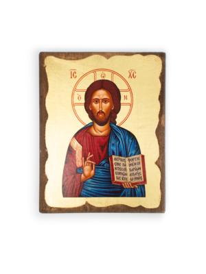 Ikona bizantyjska Chrystus Pantokrator